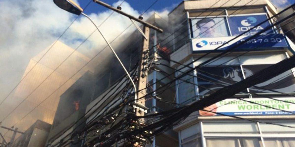 En $120 millones se avalúan daños dejados por incendio en Melipilla
