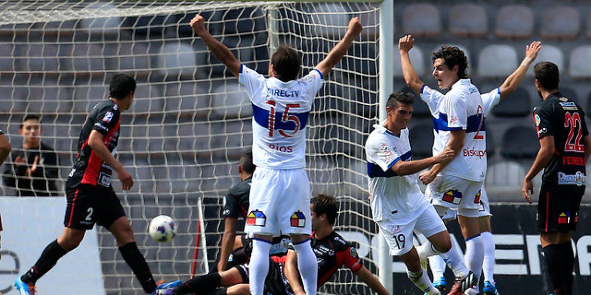 La UC de Salas partió ganando en el Clausura de la mano de Mark González