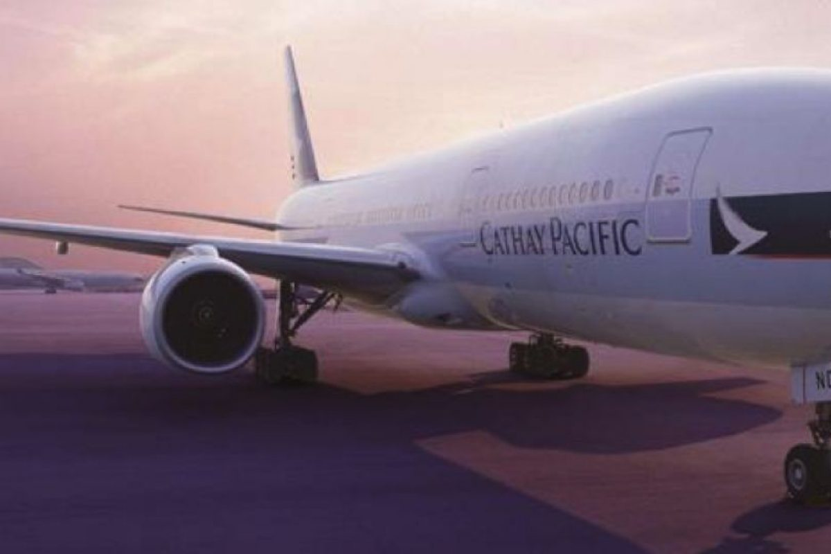 Cathay Pacific Airways-Hong Kong Foto: Facebook.com/cathaypacificLA. Imagen Por: