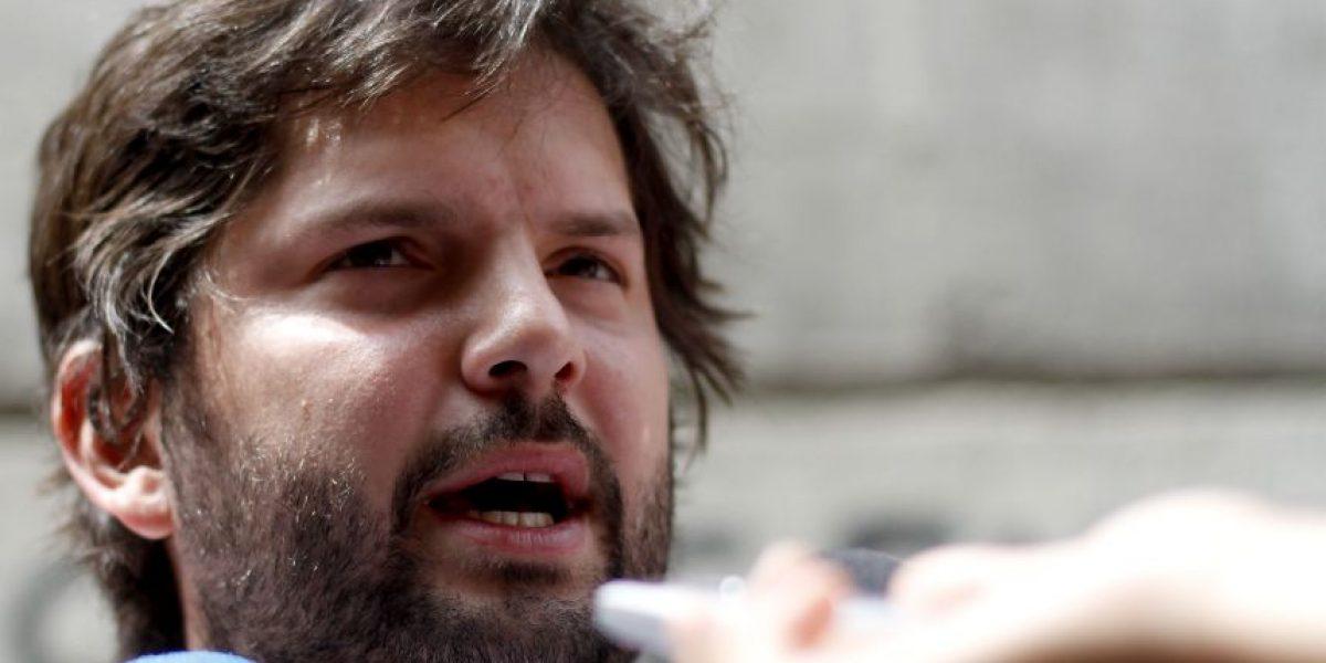 Boric admite detención por incidente en supermercado mandando recado a la UDI