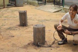 Los amarran al suelo con cadenas que apenas y los dejan caminar. Foto:YouTube/ World Animal Protection. Imagen Por: