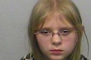 Ella es Renee Kornegay, de 11 años. Está sindicada con su hermana de asesinar a su hermano Damien a tiros. Foto:Policía de Columbia County. Imagen Por: