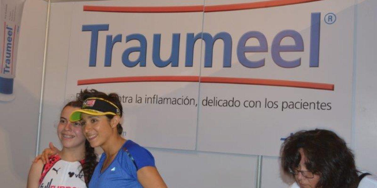 La distendida jornada de Bárbara Riveros previo al Ironman de Pucón