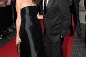 Junto a su esposa Amal Alamuddin Foto:Getty Images. Imagen Por: