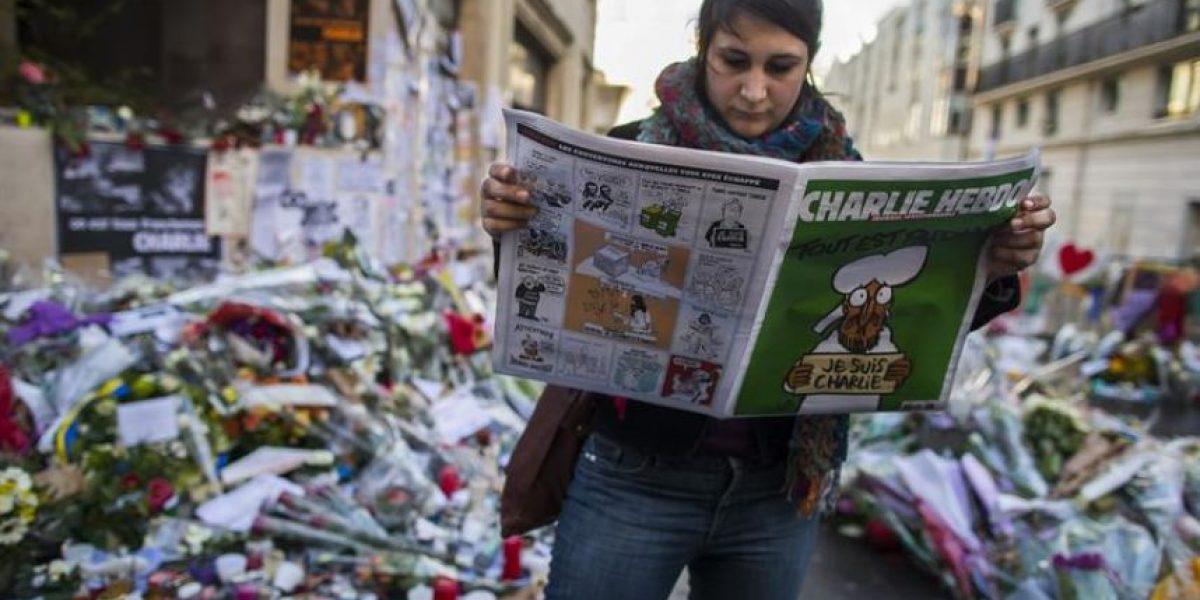 La reventa dispara los precios del último número de Charlie Hebdo