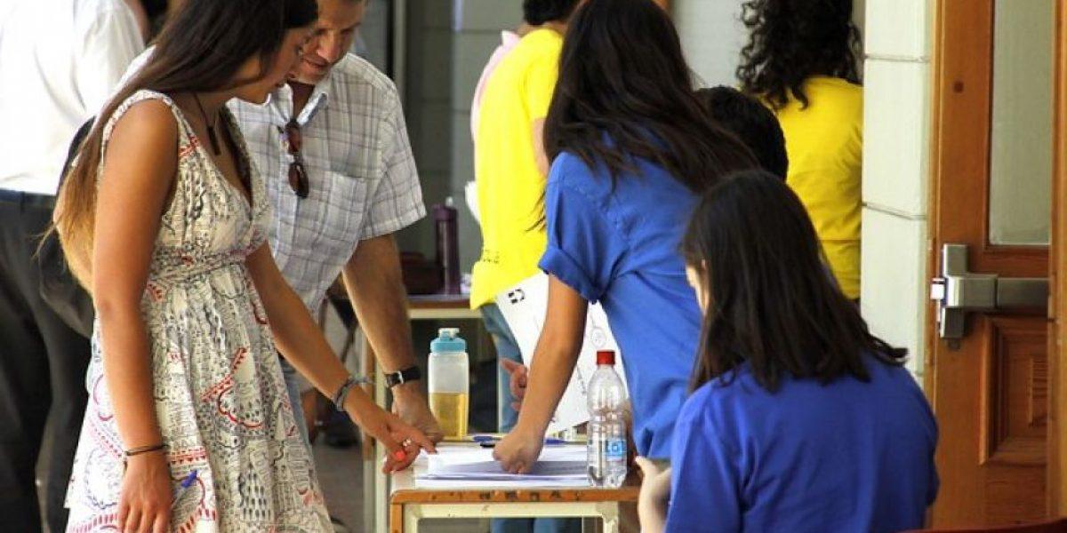Aumentaron los seleccionados para pedagogía con más de 550 puntos
