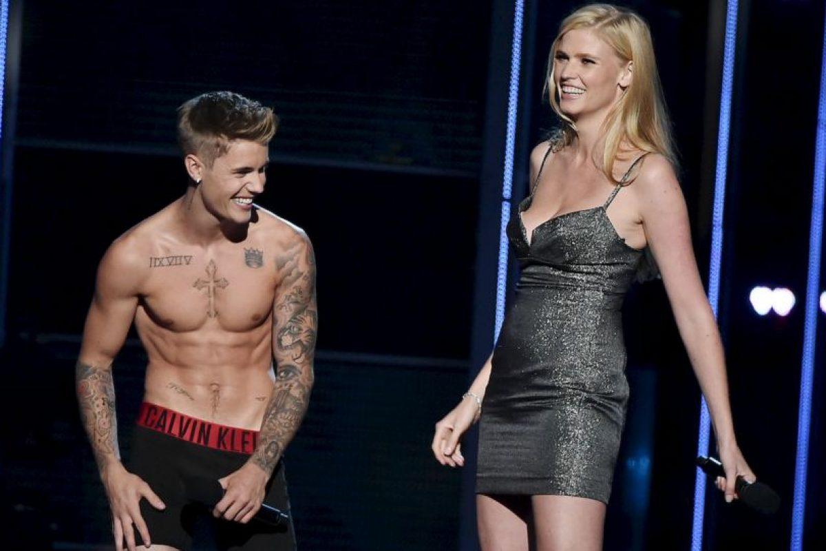 """Una vez más en su presentación en """"Fashion Rocks"""" Foto:Getty Images. Imagen Por:"""