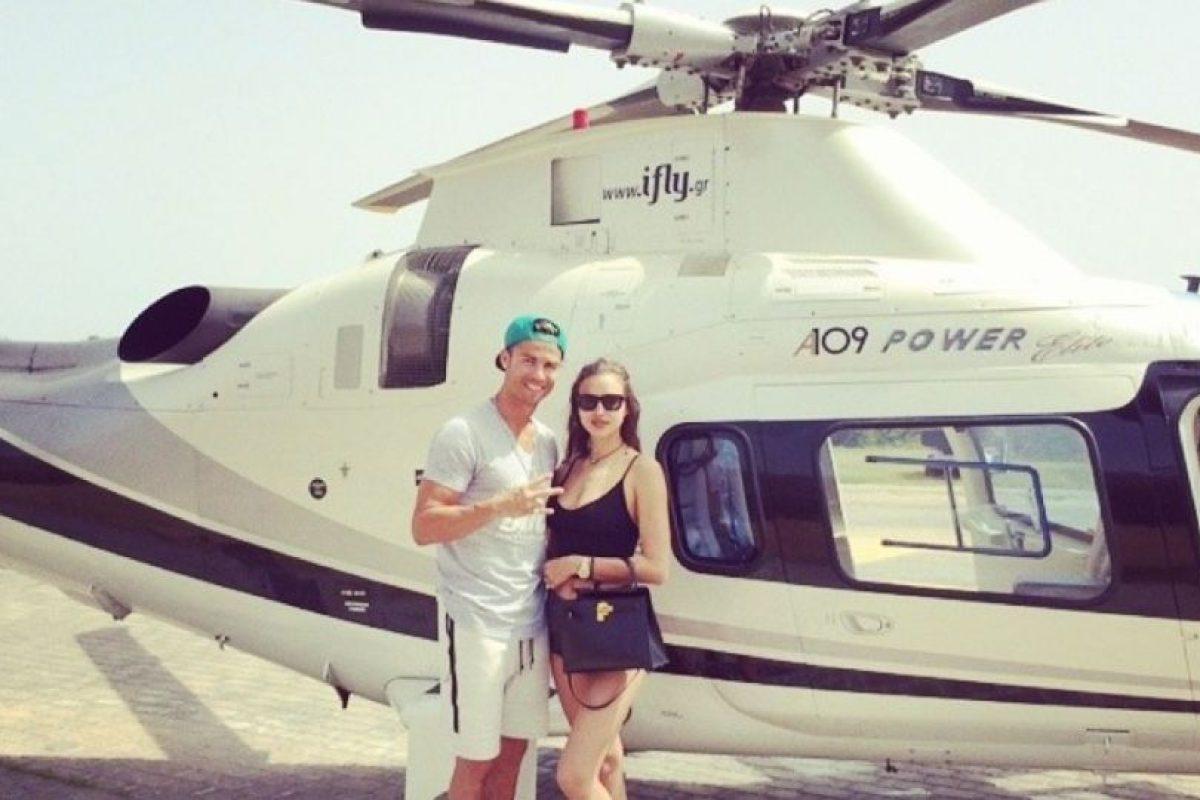 Los exóticos viajes de Shayk y Ronaldo en julio de 2014. Foto:instagram.com/cristiano. Imagen Por: