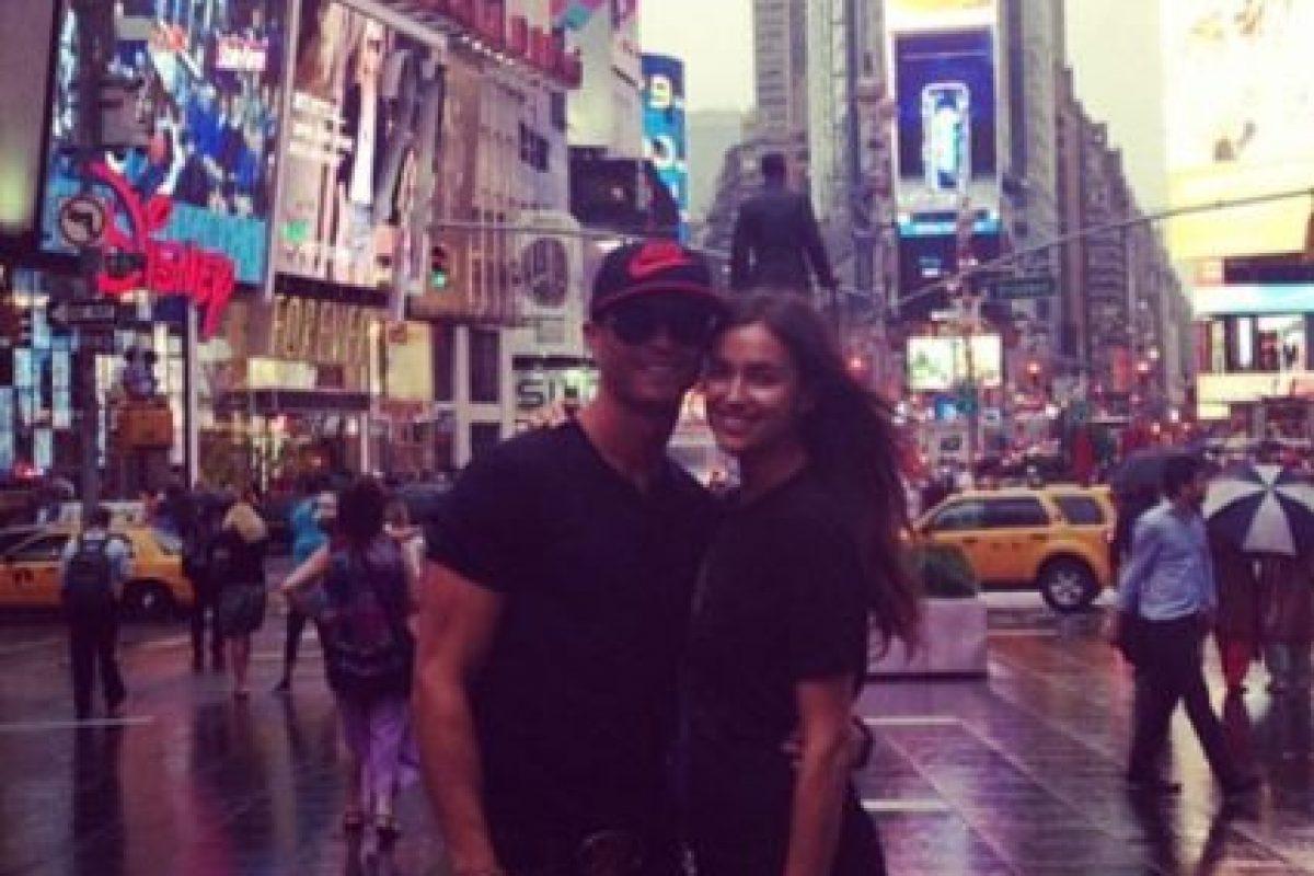 Durante su visita a Nueva York en junio de 2013. Foto:instagram.com/cristiano. Imagen Por: