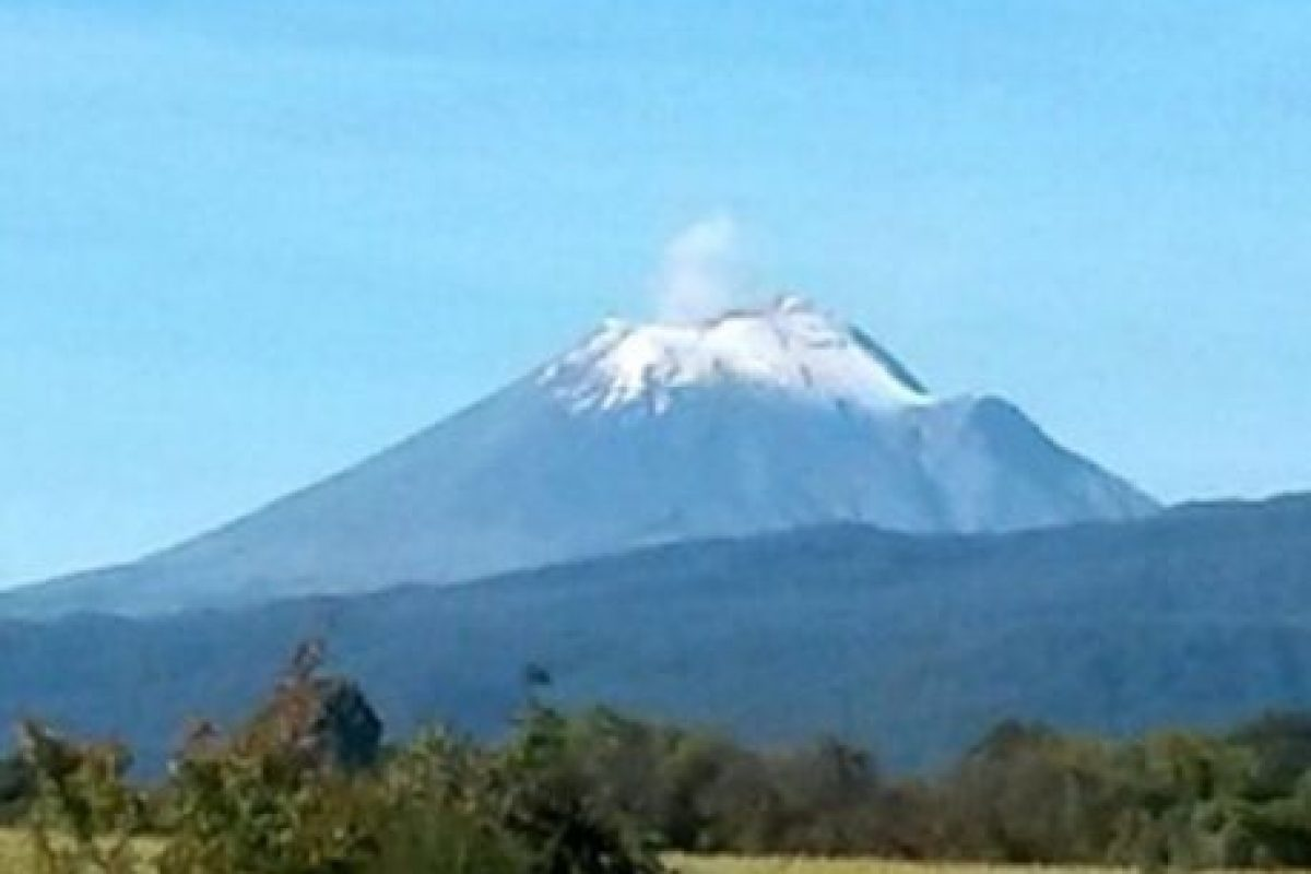 Popocatépetl, México. Foto:instagram.com/maryrosspellico. Imagen Por: