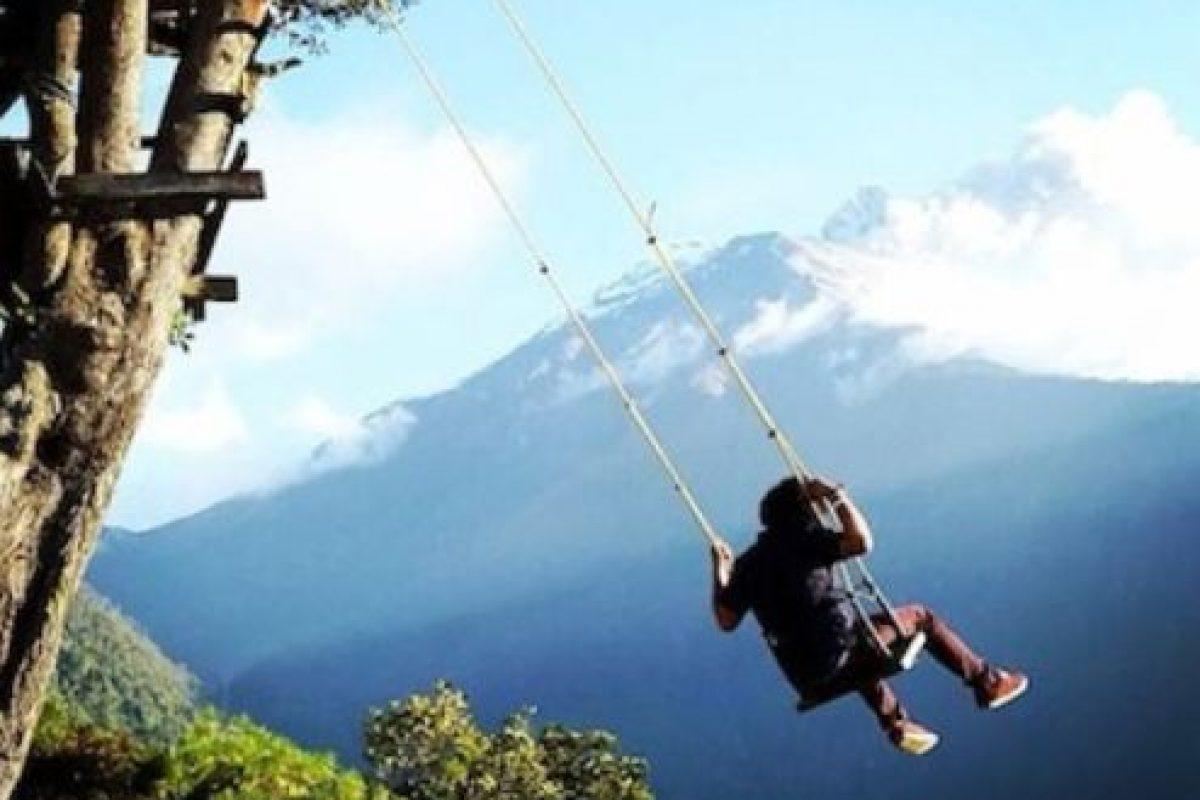 """Su nombre significa """"ardor en la garganta"""". Está ubicado en la zona andina de Ecuador. Foto:Instagram. Imagen Por:"""