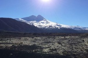Llaima en Chile. Foto:instagram.com/sylvain.paget. Imagen Por: