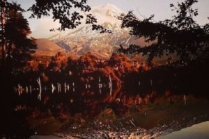 Se encuentra ubicado a 72 kilómetros de la ciudad de Temuco, desde donde se puede apreciar a simple vista. Foto:instagram.com/paola_acv. Imagen Por: