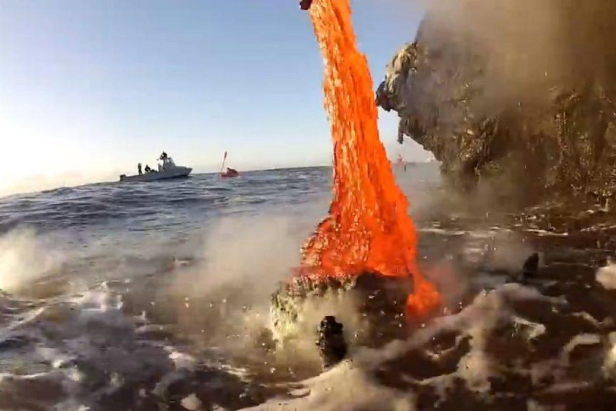 El Kilauea de la Isla Grande de Hawaii se encuentra en constante erupción desde 1983. Foto:kawika singson. Imagen Por: