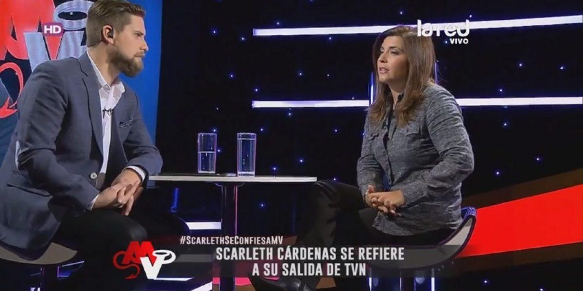 Scarleth Cárdenas revela las razones de su salida de TVN