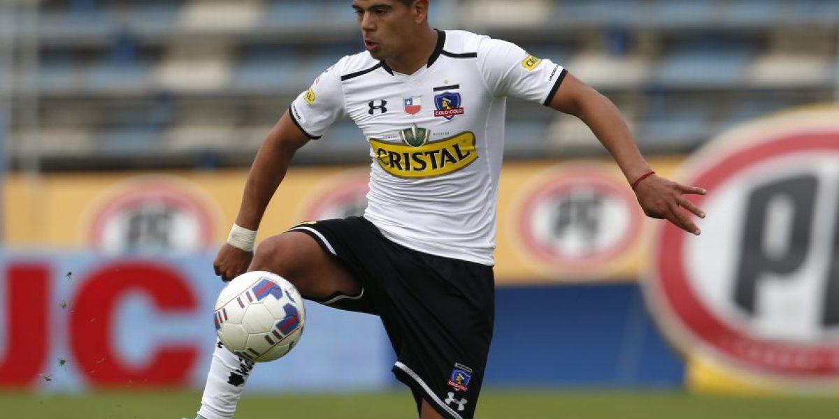 Uno menos para Colo Colo: Esteban Pavez será baja tres semanas por lesión