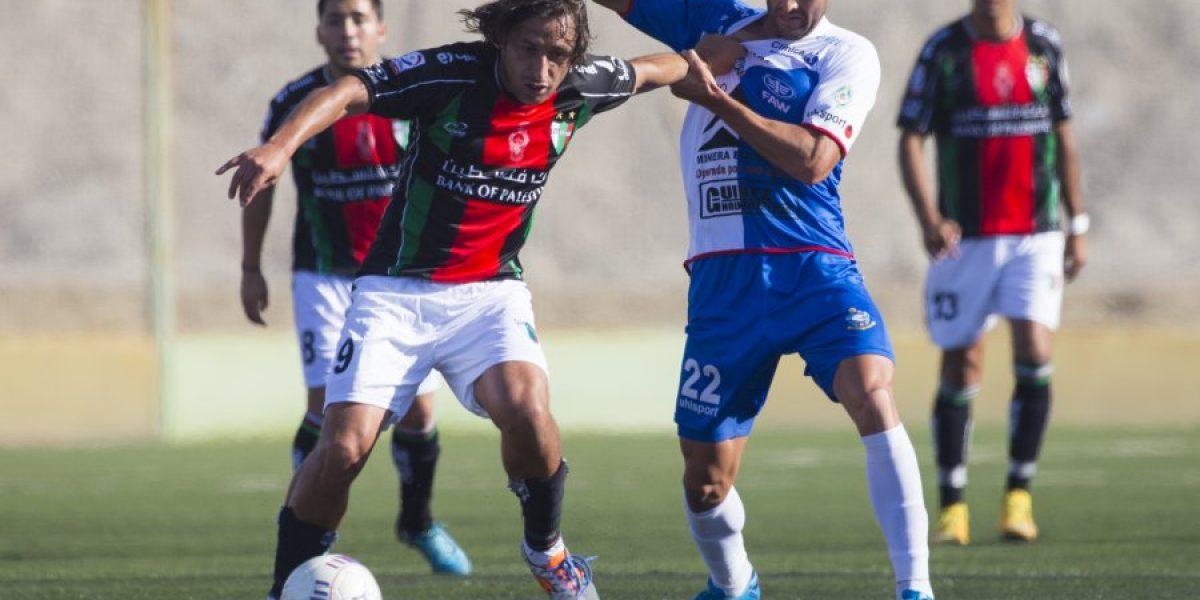 Antofagasta no hizo pesar su localía e igualó ante Palestino en semis de Copa Chile