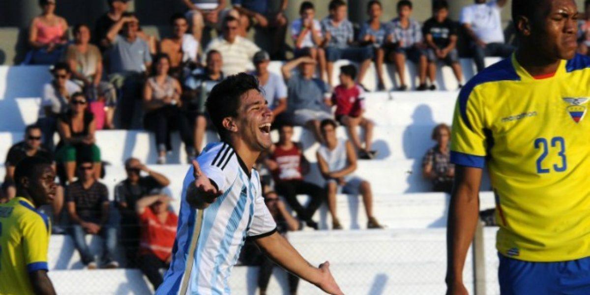 Así vivimos la goleada de Argentina sobre Ecuador en el arranque del Sudamericano Sub 20