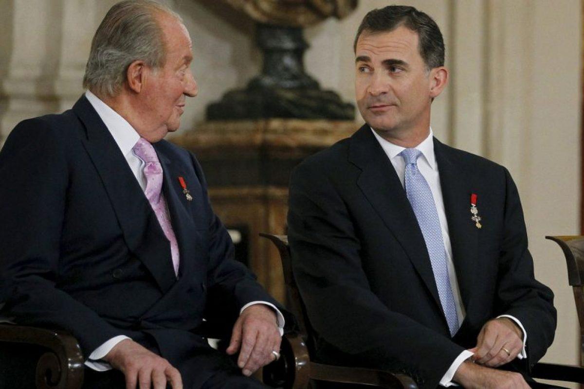 Juan Carlos abdicó a favor de su hijo Felipe. Foto:Getty Images. Imagen Por: