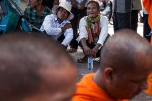 Esto luego de dudar de la victoria de primer ministro Hun Sen. Foto:Getty. Imagen Por: