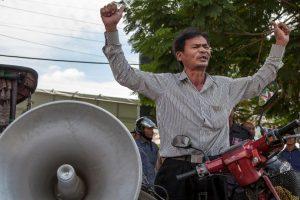 La huelga fue terminada por el príncipe Sisowath Thomico. Foto:Getty. Imagen Por: