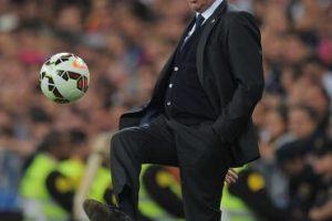 El DT Carlo Ancelotti sabe que su título en la Copa del Rey está en peligro Foto:Getty. Imagen Por: