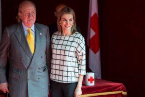 Aquí con la Reina Letizia. Foto:Getty Images. Imagen Por: