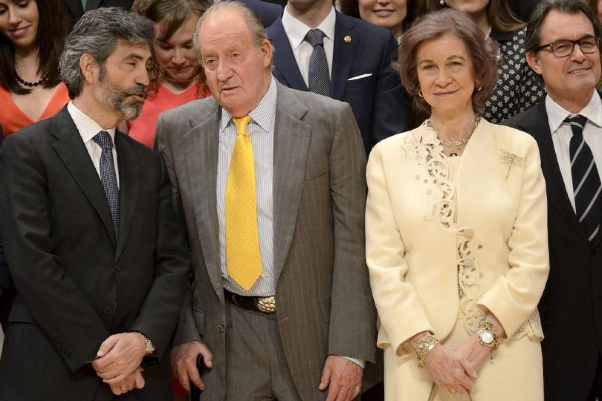 La familia real española también ha sido muy criticada por gastar demasiado. Foto:Getty Images. Imagen Por: