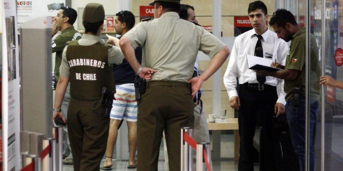 Delincuentes roban sucursal bancaria en Mall Florida Center