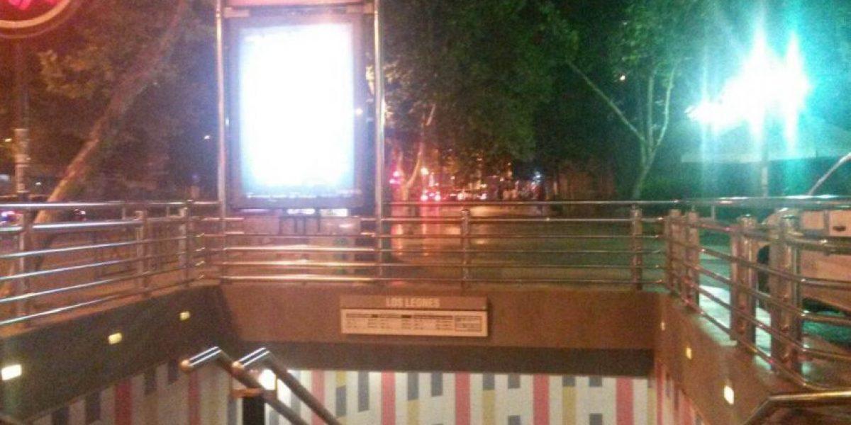 Intento de robo en el metro: Dos explosiones al interior de la estación Los Leones
