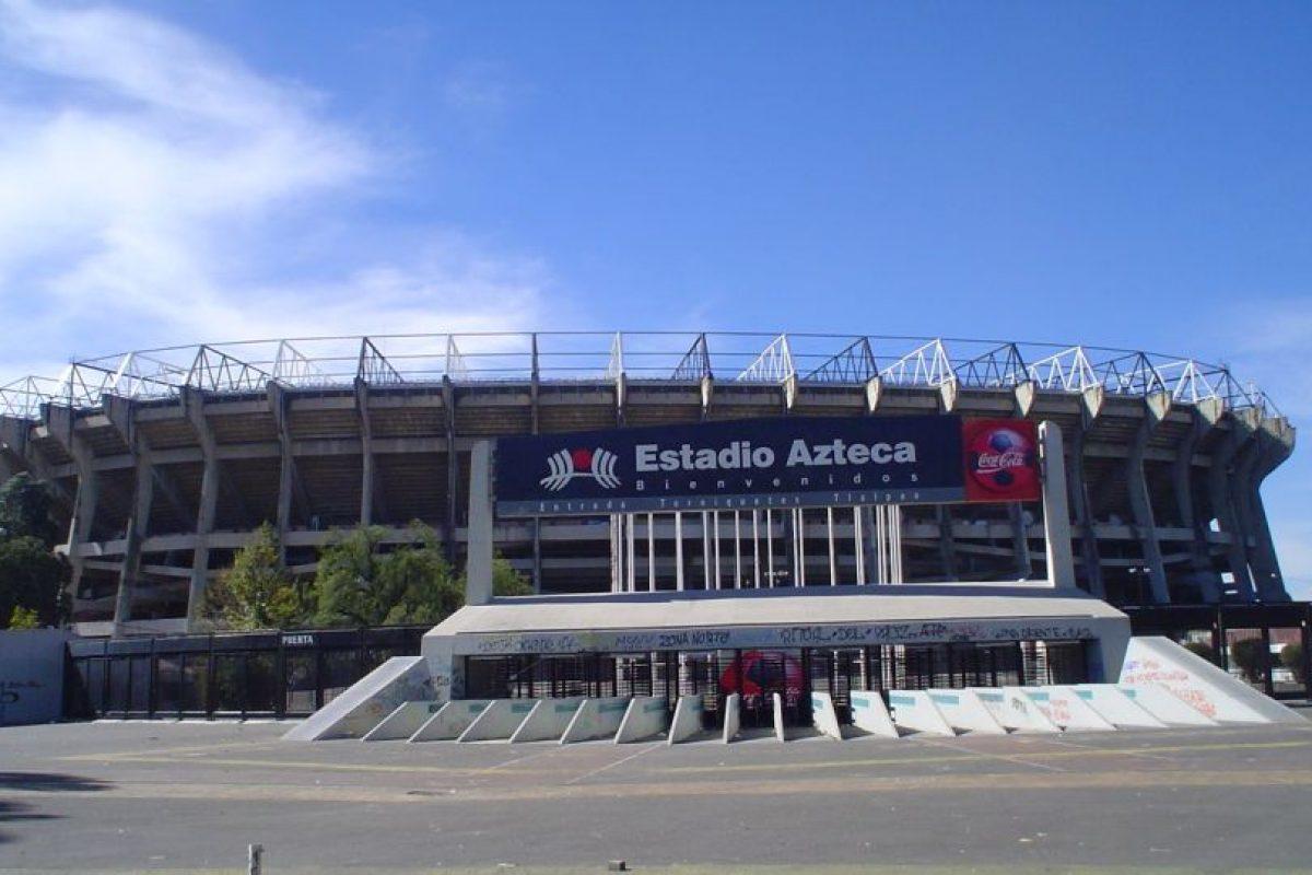 Estadio Azteca de México: Antonio Vázquez Torres fue el ganador de un concurso en el que se llamaba a la afición a darle un nombre al estadio en el que su momento fue local Cruz Azul, Necaxa y Atlante. Foto:Wikipedia. Imagen Por: