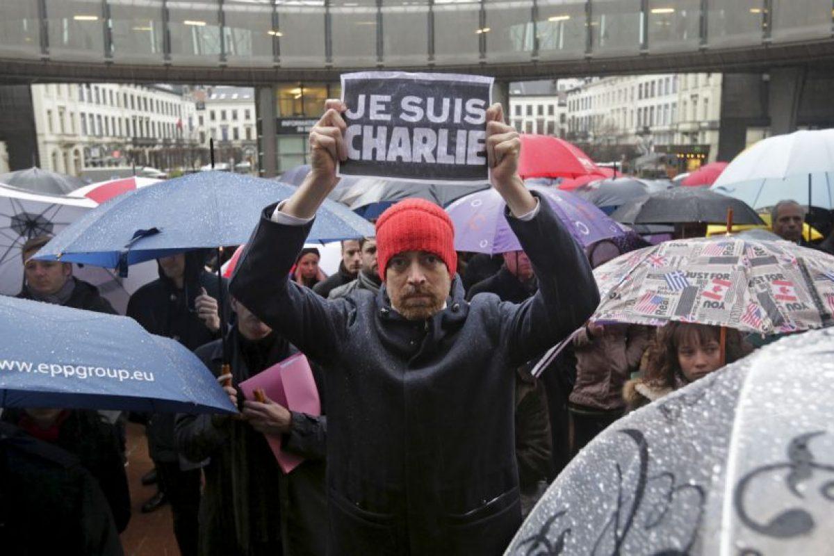 La conmoción por los hechos ocurridos en Francia llegó hasta Bélgica. Foto:AP. Imagen Por: