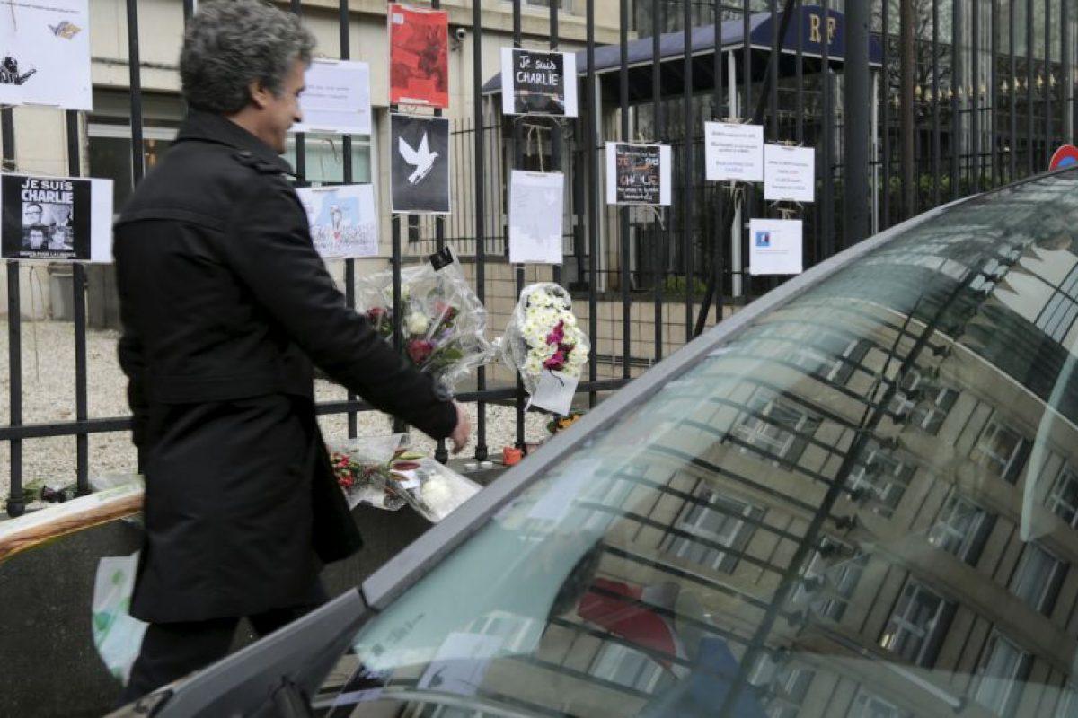 Los belgas han mostrado su solidaridad a los franceses. Foto:AP. Imagen Por: