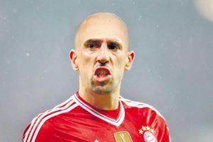 Como Arjen Robben Foto:vía bild.de. Imagen Por: