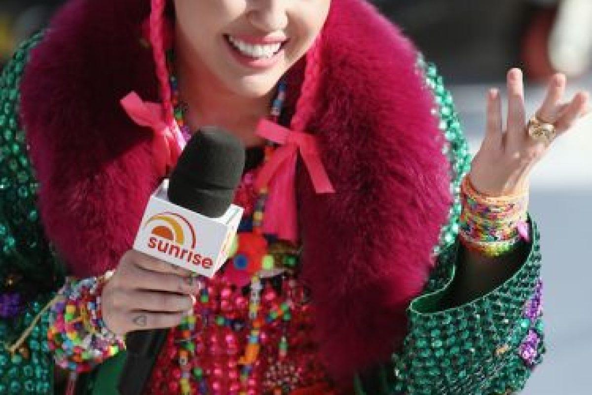 Miley Cyrus Foto:Getty Images. Imagen Por: