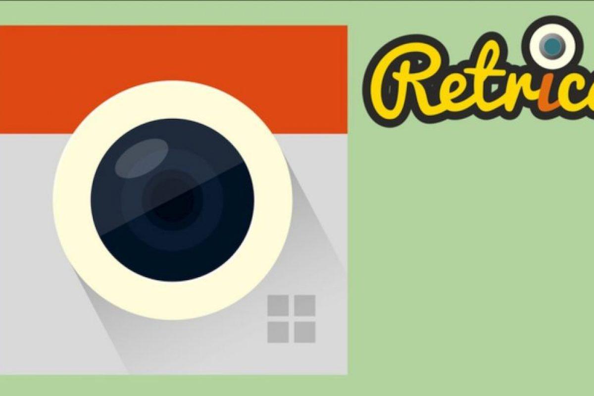 Retrica Foto:Retrica. Imagen Por: