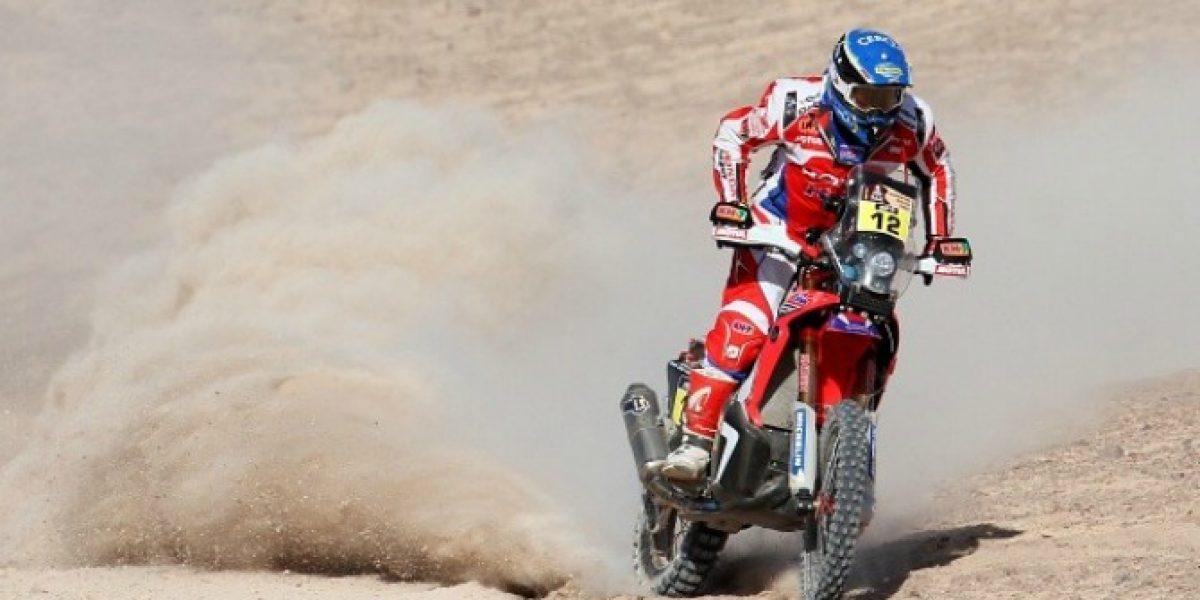 Otro retiro: El piloto chileno Jeremías Israel abandonó el Dakar 2015