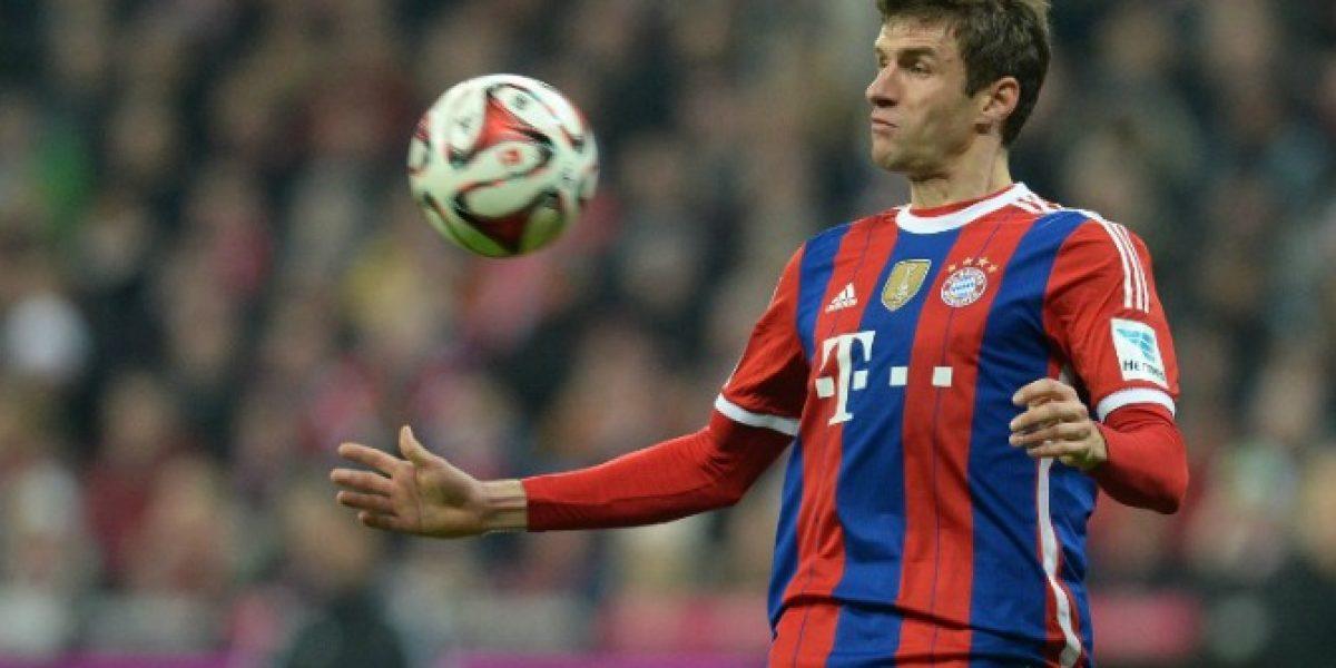El delantero alemán Thomas Müller no descarta dejar la Bundesliga