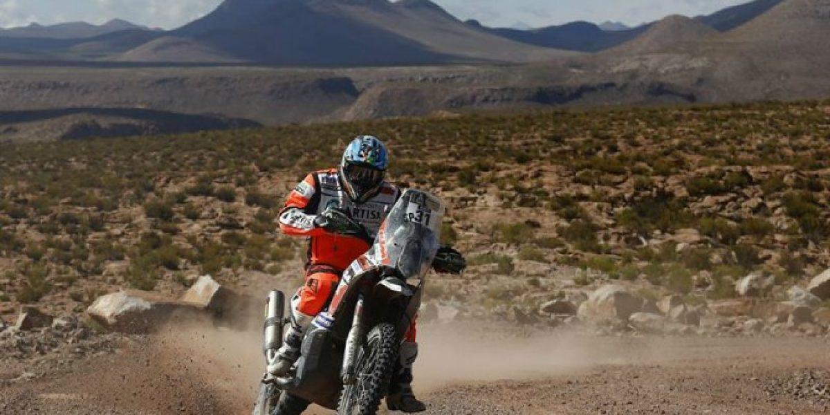 ¿Terminar o pelear el podio? La duda de Pablo Quintanilla en la recta final del Dakar