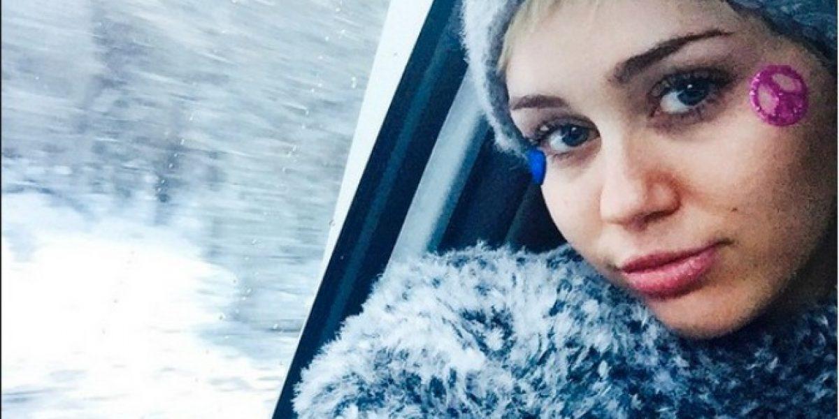 Miley Cyrus publica fotos completamente desnuda en Instagram