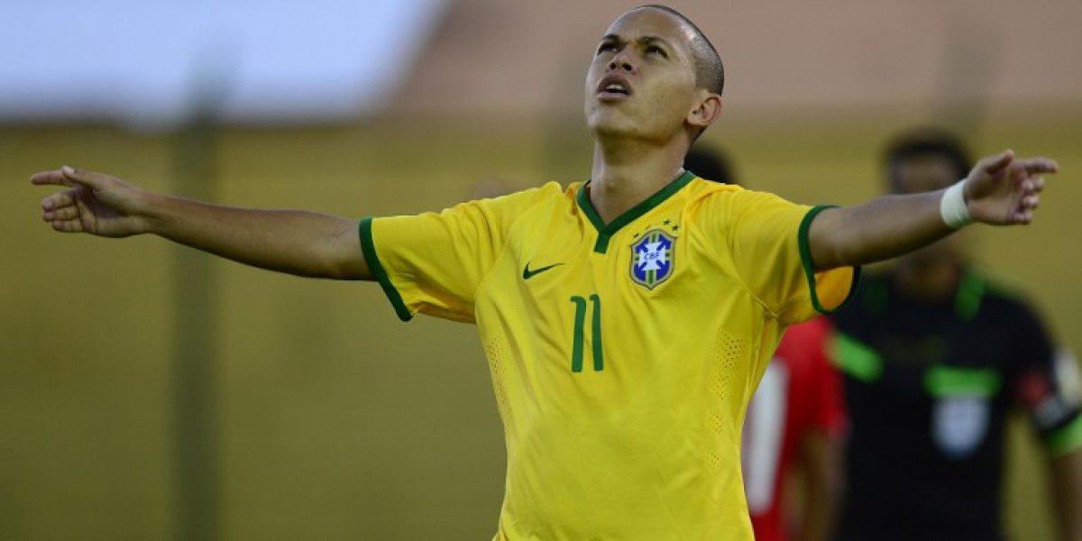 Galería: Las mejores imágenes del partido entre Chile y Brasil en el Sudamericano Sub 20