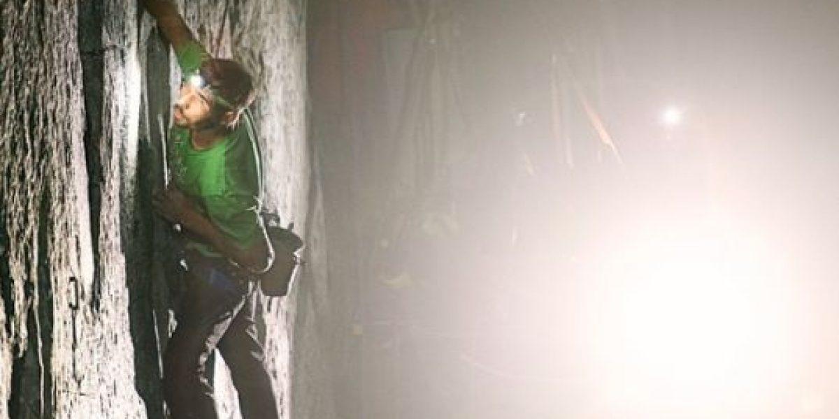 FOTOS: La hazaña de dos escaladores en el ascenso
