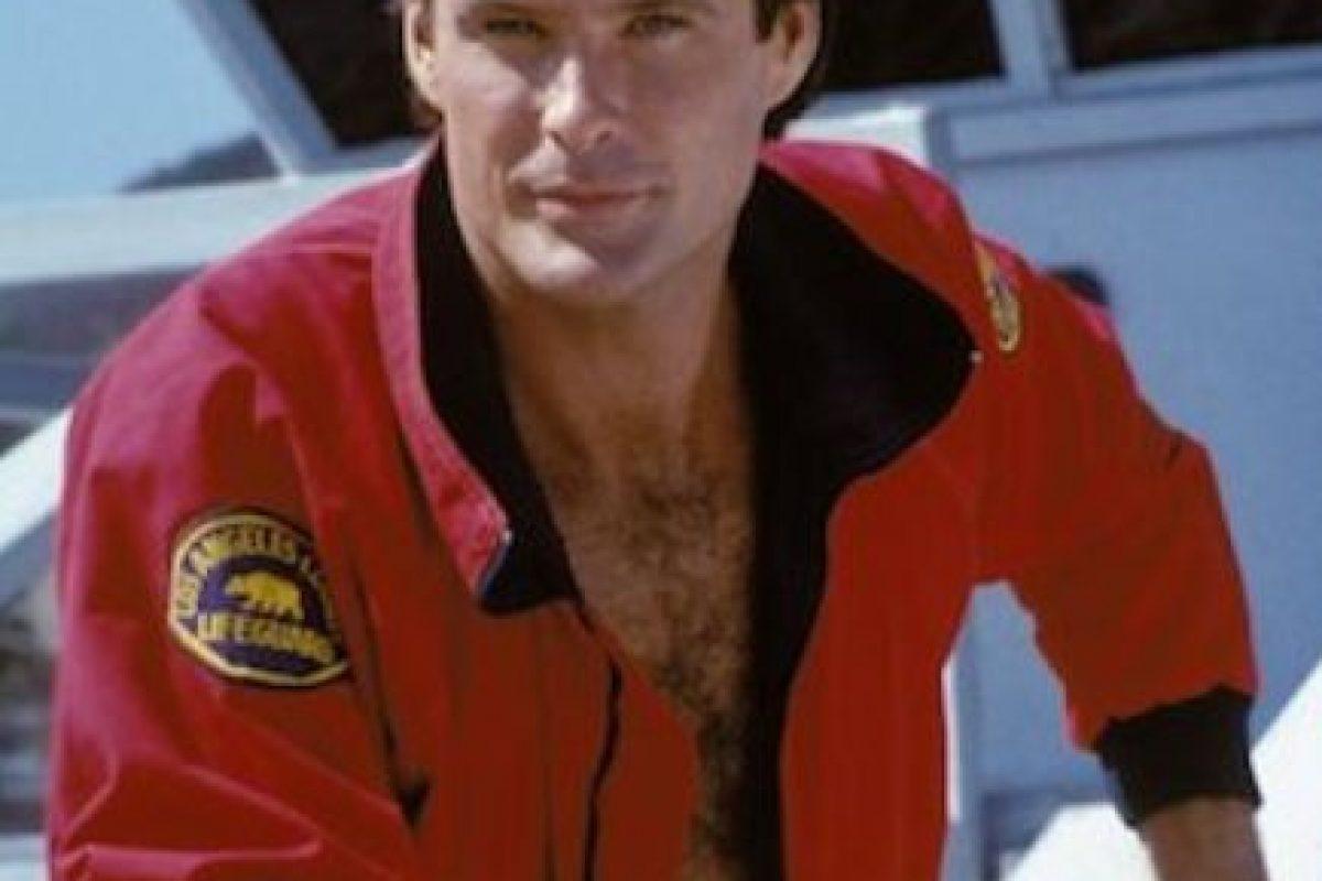 Sí, pero su figura de cera no. Pobre David Hasselhoff Foto:NBC. Imagen Por: