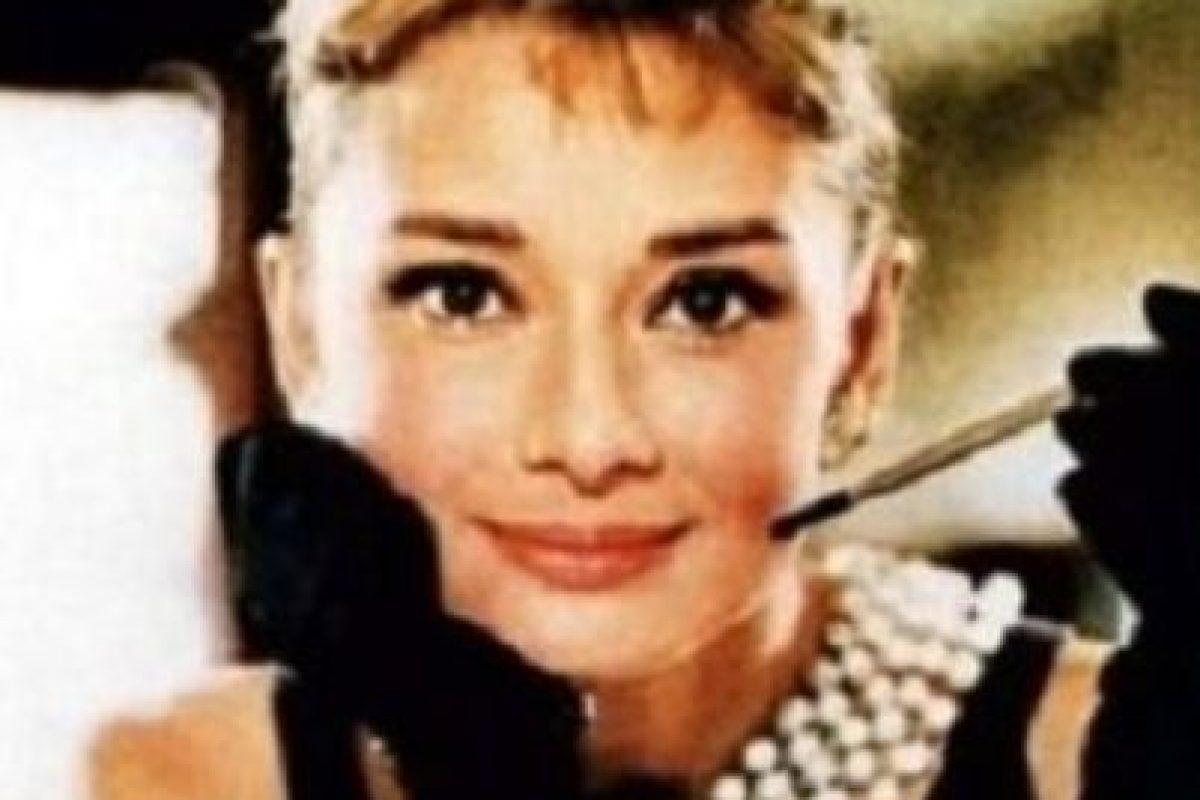 """Menos cuando era imagen de la frescura en """"Desayuno con Diamantes"""" Foto:Paramount Pictures. Imagen Por:"""