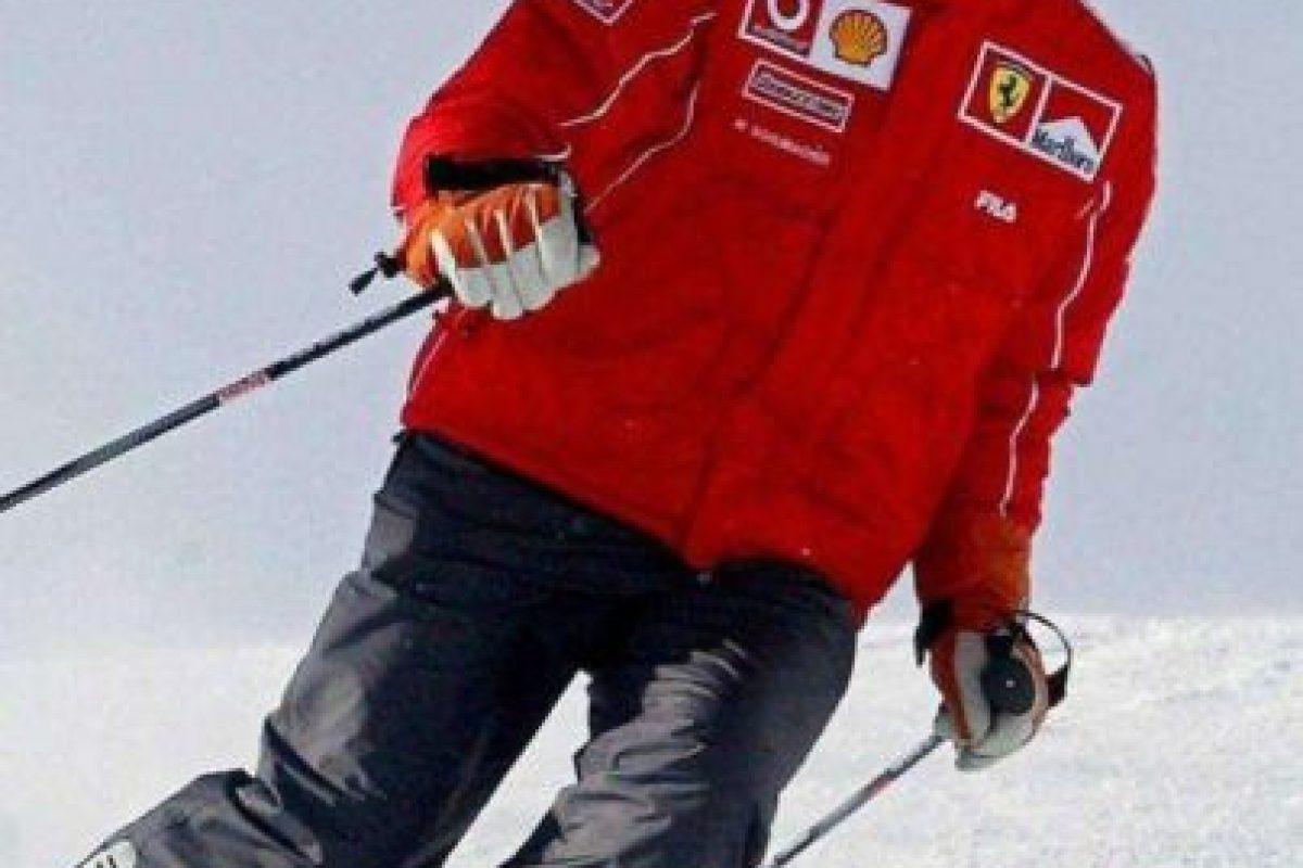 Michael Schumacher tuvo un accidente esquiando, el 29 de diciembre de 2013. Despertó 6 meses después. Foto:Getty Images. Imagen Por: