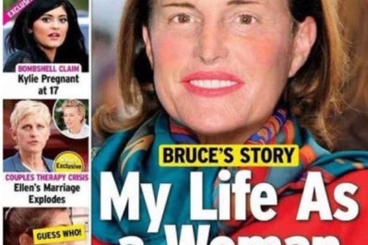 ¿Qué tal Bruce Jenner? Foto:Us Magazine. Imagen Por: