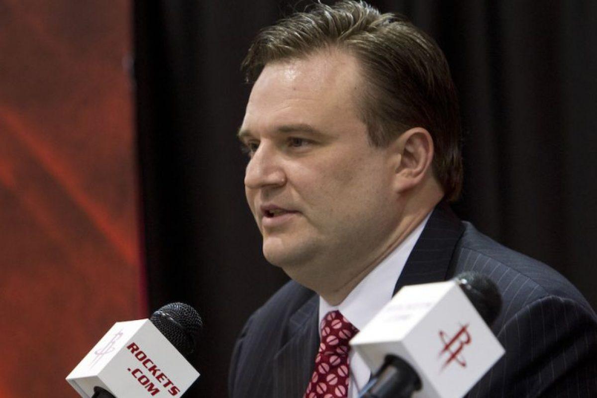 Daryl Morey, director general de los Rockets de Houston, dio una desafortunada respuesta a un aficionado. Foto:Getty Images. Imagen Por: