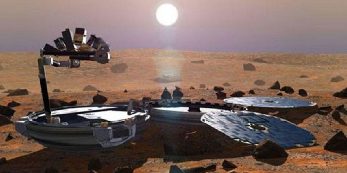 NASA encuentra en Marte nave británica perdida el 2003