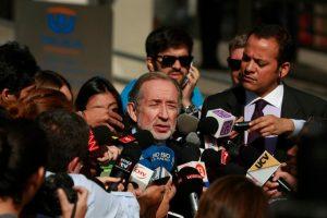 En una de las aristas del caso #PentaGate trascendió que Jovino Novoa administró dineros para las campañas electorales de la UDI Foto:Agencia Uno. Imagen Por: