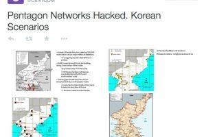 Supuestamente también se revelaron planes del Pentágono sobre Corea del Norte Foto:Twitter. Imagen Por: